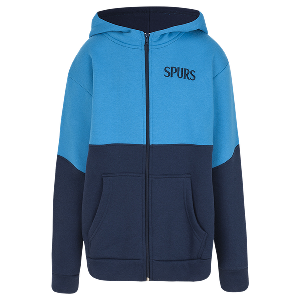 Spurs Boys Two Colour Zip Hoodie