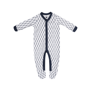 Spurs Baby Boys Sleepsuit