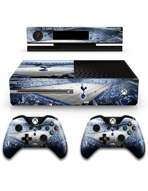 Spurs Stadium Xbox One And Controllers Skin Set