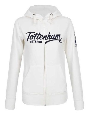 Spurs Womens Tottenham Embroidery Hoodie