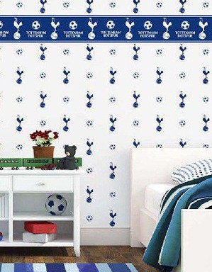 Spurs Wallpaper Border