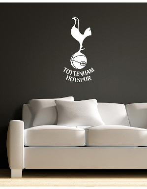 Spurs White Crest Wall Sticker
