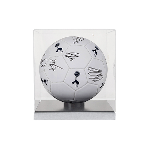 Spurs Signed Football in Cube 2016/2017
