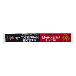 Spurs v Man United Lane Finale Scarf