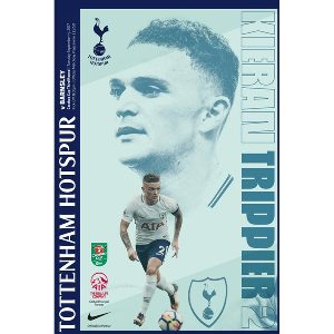 Spurs v Burnley Programme 2017/2018