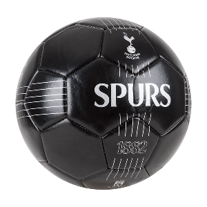 Spurs Black Size 5 Football