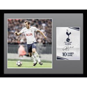 Spurs Kane 2017/2018 Framed Picture