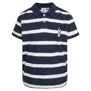 Spurs Boys Plain Striped Polo