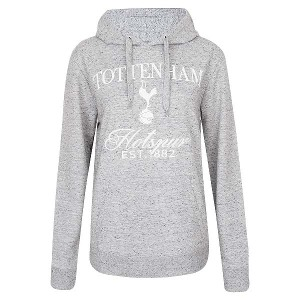 Spurs Womens Grey Embroidered Hoodie