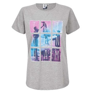Spurs Womens Photo Print Square T-shirt