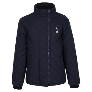 Spurs Mens Double Zip Quilted Jacket