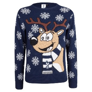 Spurs Adult Reindeer Christmas Jumper