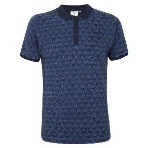 Spurs Mens Dogtooth Polo