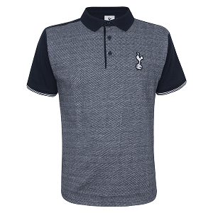 Spurs Contrast Sleeve Polo