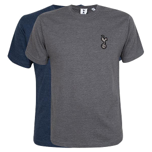 Spurs Mens Melange Essential T-Shirt