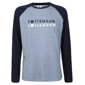 Spurs Mens Long Sleeve Tottenham T-shirt